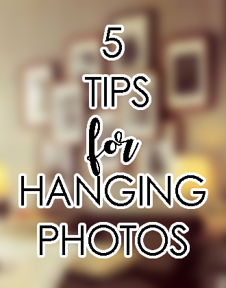 5 Tips for Hanging Framed Photos